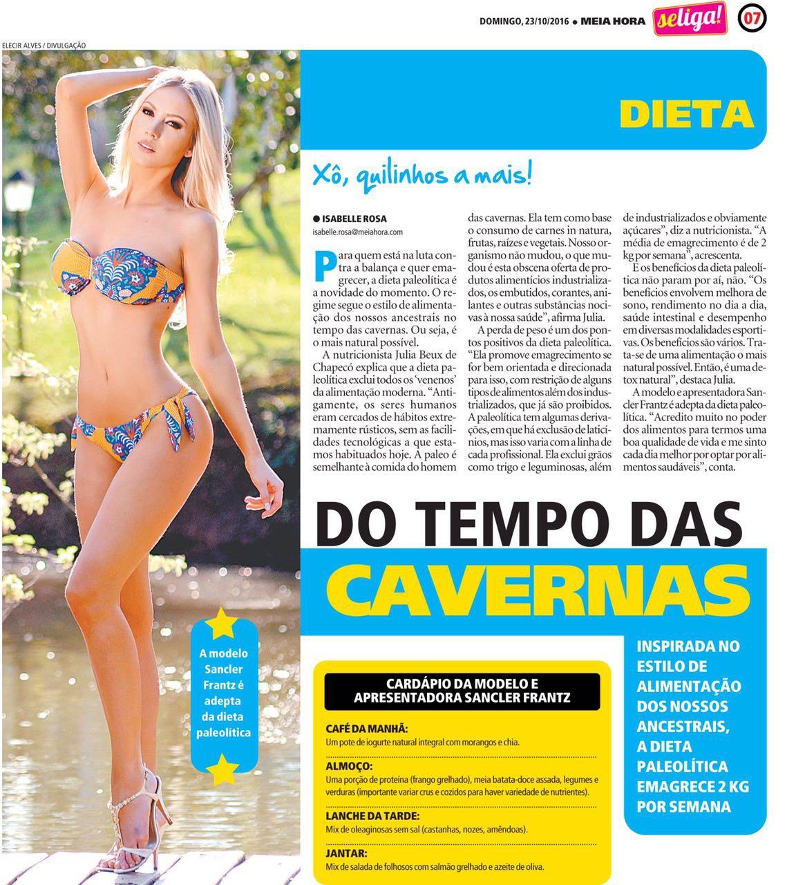 Jornal Hora Extra - Foto de Eleci Alves, JC Assessoria