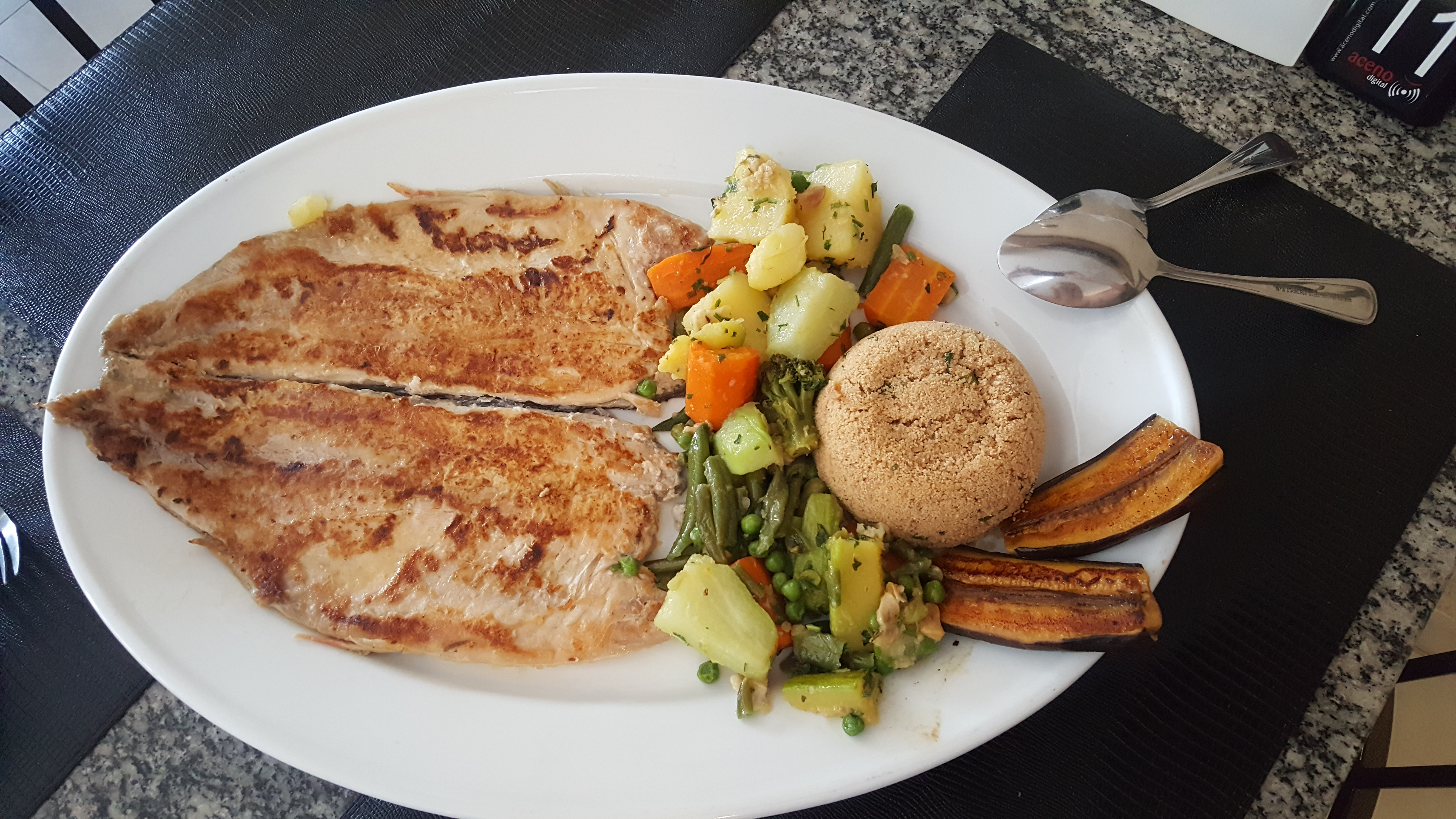 Prato típico de Bonito, o peixe Piraputanga